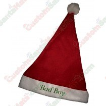 Bad Boy Santa Hat