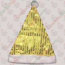 Yellow felt sequin