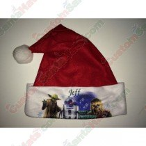 Star Wars Red Santa Hat