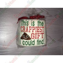 Crappiest Gift I could Find Toilet Paper