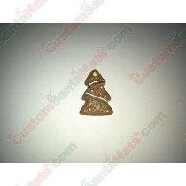 3D Christmas Tree Tan