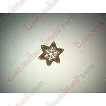 3D Gingerbread Star