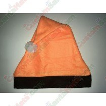 Orange and Black Santa Hat SSF