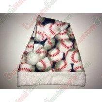 Baseball Santa Hat Fleece
