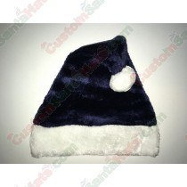 Dark Navy Blue Santa Hat Plush