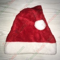 Red Plush Santa Hat