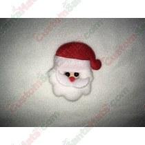Fluffy Santa