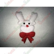 Reindeer White With Bow