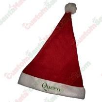 Queen Santa Hat
