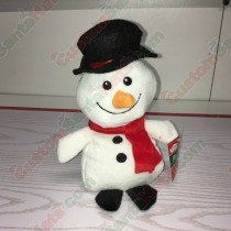 Snow Man Plush Toy 8""