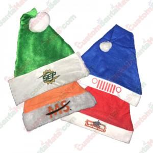 Logos On Santa Hats
