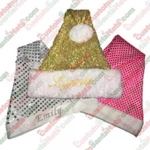 Sparkle Santa Hats