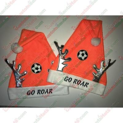Orange Santa Hats ID-18