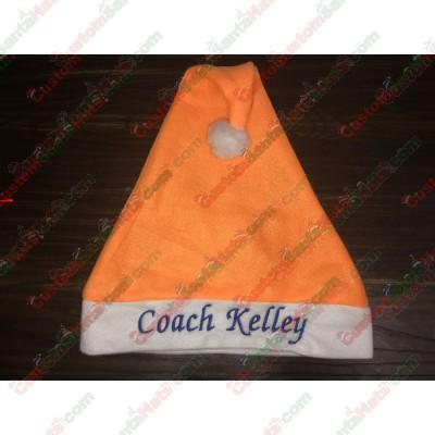 Orange Santa Hats ID-3