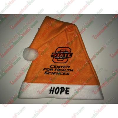Orange Santa Hats ID-48
