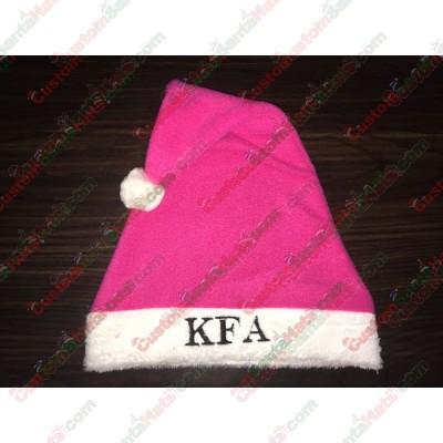 Pink Santa Hats ID-32