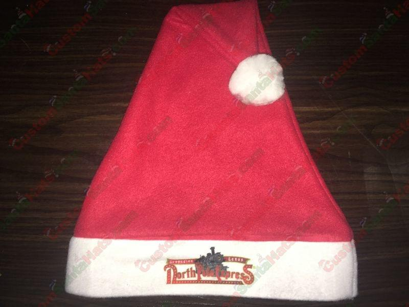 Custom Santa Hat With Logo